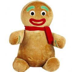 Personalised Christmas Gingerbread Cubbie Teddy (Scarf)